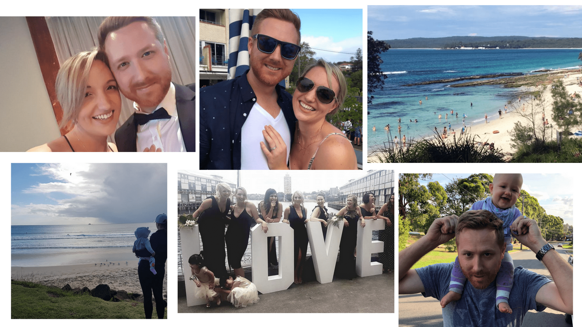 Sarah and Ryan, 32, Sydney.